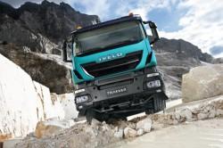 Iveco, Scania e Volvo apresentam seus novos camiões de obras