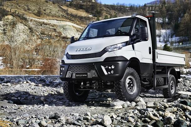 Iveco выпускает версию 4x4 нового Daily