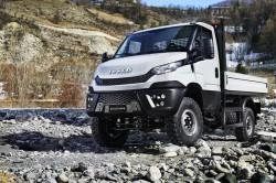Iveco lanceert de 4x4 versie van zijn nieuwe Daily