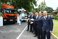 Iveco läßt sich in Malaisien nieder.