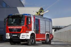 MAN présente ses camions de pompiers au salon Interschutz de Hanovre