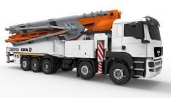 Cifa breidt zijn assortiment Carbotech zelfrijdende betonpompen uit