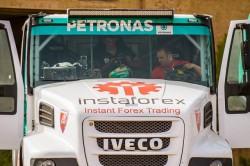 Le pilote tchèque Ales Loprais rejoint l'équipe d'Iveco du Dakar 2016