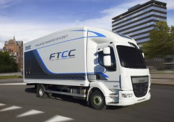 DAF expérimente le camion du futur pour réduire le poids de ses LF