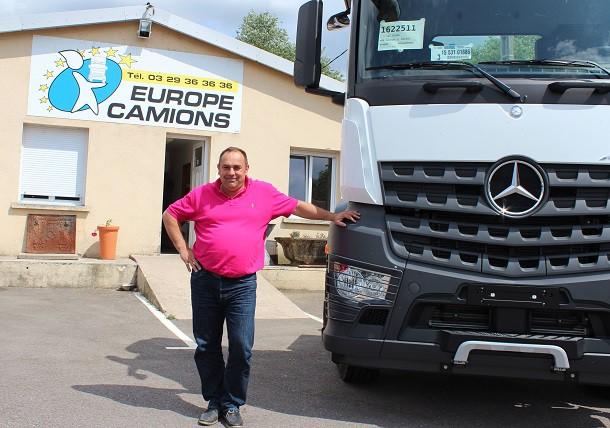 entretien avec fabrice collot g rant de la soci t europe camions convoyage divers transport. Black Bedroom Furniture Sets. Home Design Ideas