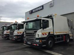 Trois BOM sur châssis Scania livrées dans la Creuse