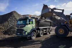 Volvo Trucks, inşaat kamyonları serisinde 5 yenilik başlattı