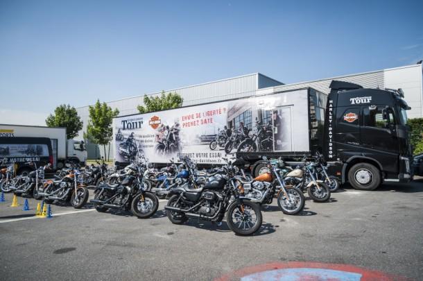 Exp rience tour 2015 volvo trucks et harley davidson de for Constructeur tours