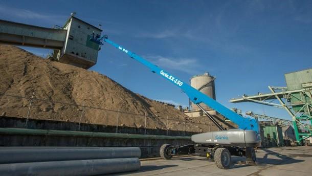 Yeni Genie SX-150 platformu Avrupa pazarında geliyor