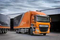 Les camions DAF CF équipés du moteur PX-7 disponibles sur 3 essieux
