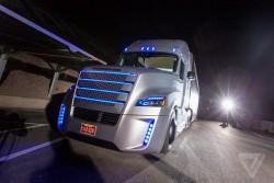 Daimler möchte seine Lkws in Deutschland testen