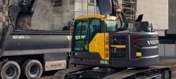 Volvo presenteert zijn nieuwe rupsgravers ECR145E en ECR235E