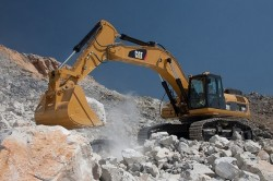 Caterpillar 340F : un excavator cu şenile eficace, economic şi durabil