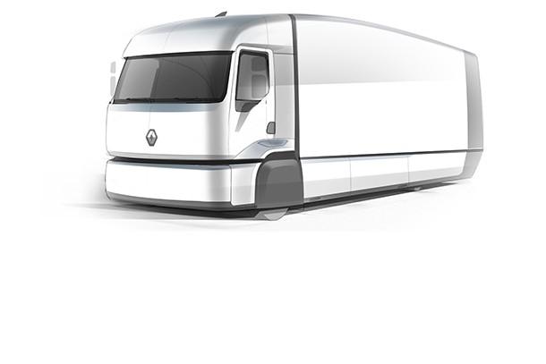 renault trucks teste l efficient distribution truck pour r duire la consommation des camions. Black Bedroom Furniture Sets. Home Design Ideas