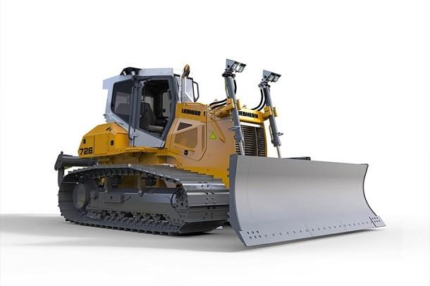 Liebherr pr sentera son nouveau bulldozer pr 726 au salon for Salon du tp