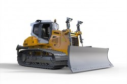 Liebherr will introduce their new PR 726 bulldozer at the NordBau 2015 exhibition