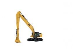 Caterpillar lancia i suoi nuovi escavatori  340F e 352F Lunga Portata