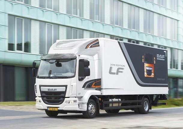 Максимальная эффективность DAF LF 2016 года выпуска