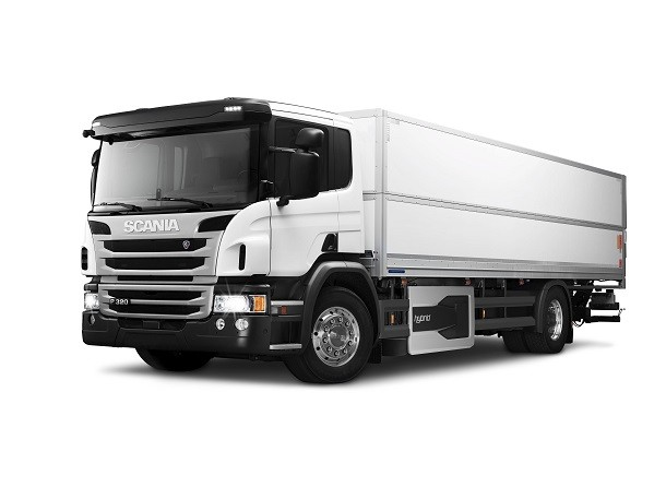 scania p320 a hybrid truck designed for city use truck reviews eci. Black Bedroom Furniture Sets. Home Design Ideas