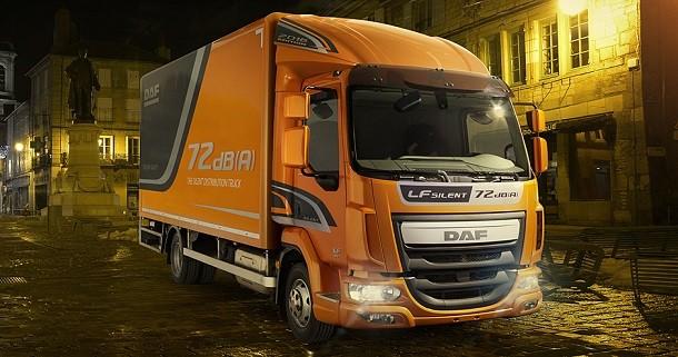 DAF startet einen extrem leisen LF-Verteiler-Lkw