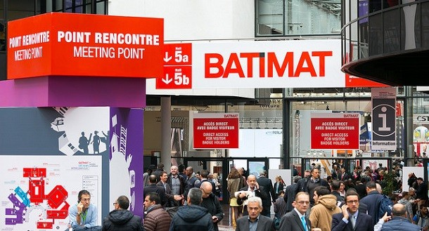Salon batimat 2015 les nouvelles technologies l for Salon du batiment paris