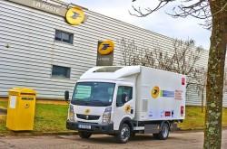 Renault Trucks präsentiert zwei neue Elektro-Lkw anläßlich der COP21 (UN-Klimakonferenz).