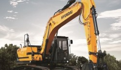 Hyundai introduces their new HX220 L track hydraulic excavator