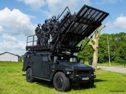 Les nouveaux camions militaires Sherpa Light jugés trop chers pour le GIGN