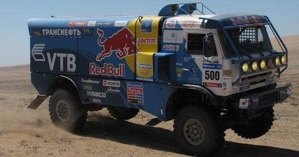Quién sucederá a Kamaz en la primera posición en el podio en el Dakar 2016 ?