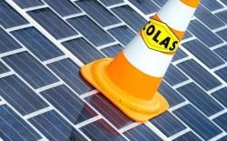 Toekomstige aanleg van zonnewegen, die elektriciteit kunnen opwekken