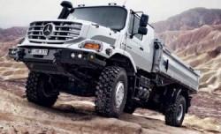 Les camions militaires Mercedes Benz Défense