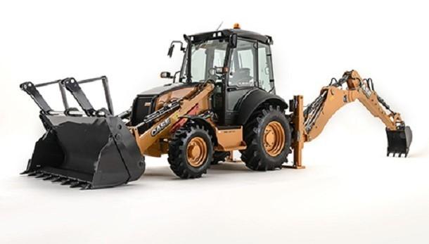 Ein neuer Ausleger für das Modell des Baggerladers 580ST
