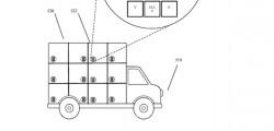 Dei camion di consegna senza autista concepiti dalla Google