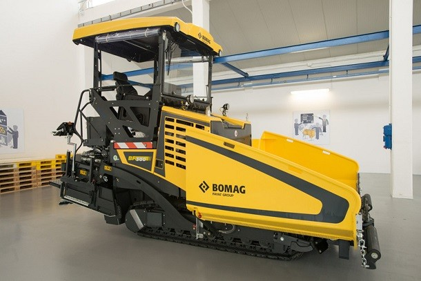Bomag introduces a new road paver