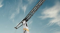 The brand new L1-24 hydraulic crane by Liebherr