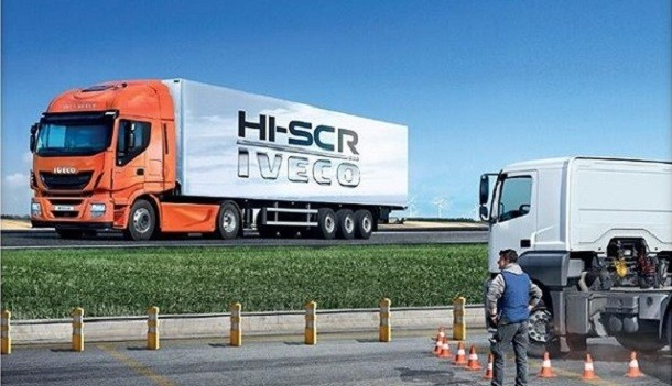 Zoom sobre la tecnología HI-SCR  de los vehículos pesados Iveco