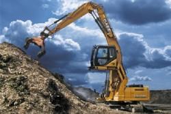 Case présente des matériels dédiés aux secteurs des déchets et du recyclage