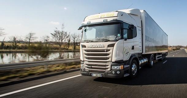 1 196 km d'autonomie pour le Scania GNL
