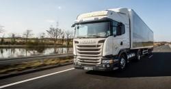 1 196 km di autonomia per lo Scania GNL