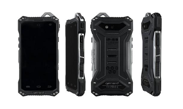 Hemos probado para usted el Smartphone de obra Getnord Onyx