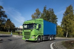 "Scania wins the ""Green Truck Future Innovation 2016"""