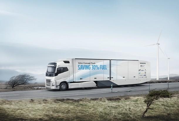 "Os secredos do ""Volvo Concept Truck"""