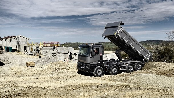 Technologia OptiTrack Renault Trucks na trudne tereny.