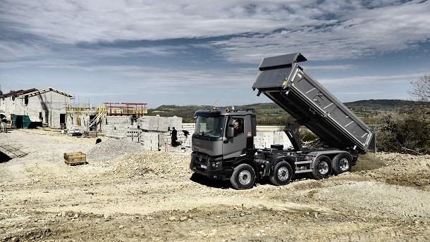 De OptiTrack technologie van Renault Trucks voor moeilijk begaanbaar terrein