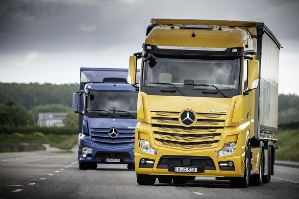 Actros 20th birthday: let's celebrate with novelty