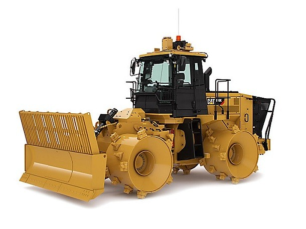 What's new on Cat's 816K compactor