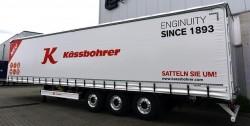 Deux nouveautés chez Kässbohrer : la remorque Maxima K.SCL X + et le service K-Advance Care