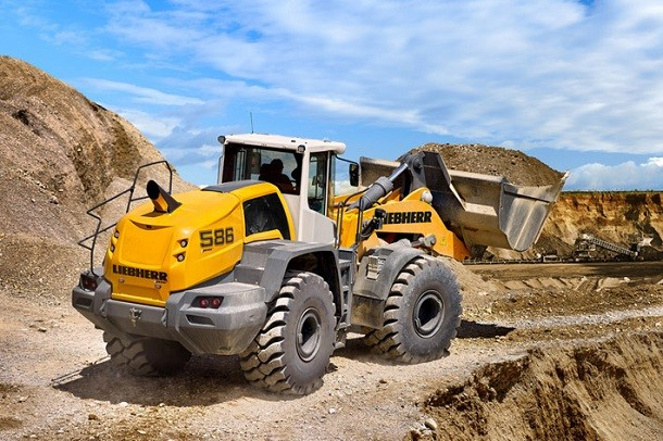 Liebherr's L550 and L586 new loaders won a Red Dot Award