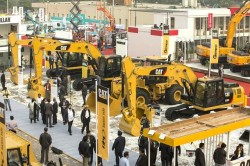 Big construction firms gather at Bauma Conexpo India 2016