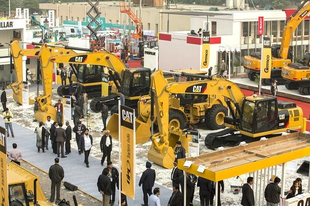 Bauma Conexpo India 2016 : obecność dużych firm